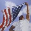 drgaellon: Stephen Walker art (Flag Waving)