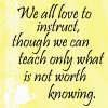 wahlee: (Love to Instruct)