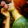 rosedamask: ([Art - Waterhouse] The Soul of a Rose) (Default)