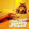 morningapproach: (cat\\ignoring squid)