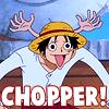 serasarahhhh: (OP - Luffy as CHOPPER!)