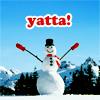 lady_sarai: (Yatta!Snowman)