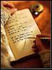 arliss: (write in book)