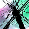 avram: (Electricity, Power Pole)