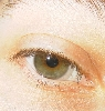 kyrielle: Close-up of the author's eye, staring out at the viewer (eye)