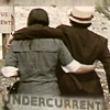 "copracat: ace and the doctor with text ""undercurrent"" (ace - undercurrents)"