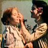 copracat: diana putting a flower behind anne's ear (anne girls of summer)
