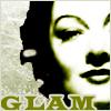 copracat: myrna loy looking glamorous with text 'glam' (glam myrna)