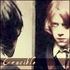 copracat: ron has been through the crucible of friendship (ron crucible)