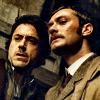 kabal42: Watson and Holmes ready to face the world (Film - SH Holmes/Watson facing world)