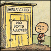 mizzmarvel: (charlie brown - no boys allowed)