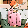 radiantly: (warm and toasty)