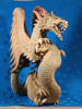 sonia: Indonesian winged dragon carved from wood (dragon)
