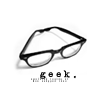 makai: geek glasses (stock: geek)