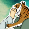 rarimatiger: (Tiger - bite, tiger - hand bite)