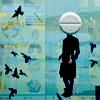 jesse_the_k: Pill Headed Stick Person (pill head)