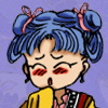 chichiri: Chichiri in drag (Default)