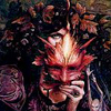 jennaria: Woman with mask, as drawn by Brian Froud (Brian Froud faerie) (Default)