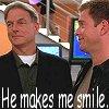 ankh: (NCIS smile)