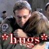 ankh: (SG1 Daniel Janet hug)