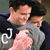 ankh: (Friends joey chandler hug)