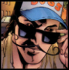 xxraiden: Gambit with a handlebar moustache. c: (victim, outfit, moustache, fashion, x-men, gambit)