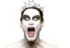 screechingviolence: It's Jim fucking Carrey in make-up. (Jim Carrey Black Swan Buffalo Wings)
