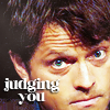 chicasumi: misha collins is judging you (judging you)