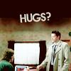 chicasumi: castiel wants hugs (hugs)