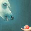 elvinborn: (horse + apple = love)