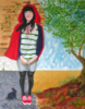 psychic_321: My painting entitled 'Red' ... painted in 2011. (Default)