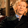 haleskarth: A picture of Tilda Swinton laughing, from the film Constantine. (Which I have not seen, but I like her appearance.) (Laugh.)