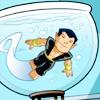 personae: (namor in a fishbowl)