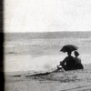 feather_ghyll: Photograph of L M Montgomery at the seaside (L M Montgomery)