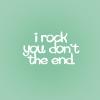 wavelessthoughts: (random: i rock)