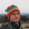 tim: Tim with rainbow hat (Default)