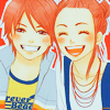 "spanner: by <lj site=""livejournal.com"" user=""heygraphics""> (LoveCom: Ôtani & Risa smile)"
