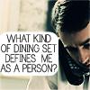 lu: (Dining set)