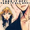 cloverfield: (take it off)