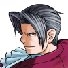 truthsnomiracle: Edgeworth looks over his shouder with an evil grin. (Badass, Antihero moment, I WAS a villain once)