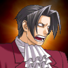 truthsnomiracle: Edgeworth shouts in rage! (Rage)
