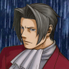 truthsnomiracle: Edgeworth stares into the storm with a brooding, grim expression. (Brooding)