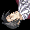 truthsnomiracle: Edgeworth is out cold, blacked out on the ground. (Faint, KO, *thump*)