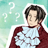 truthsnomiracle: Edgeworth is completely perplexed. (Confused, Come again?)