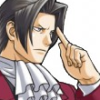 truthsnomiracle: Edgeworth is holding his finger to his temple with a serious expression. (Serious thought)