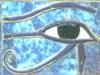 wedjateye: Eye of Horus on gorgeous blue background (Default)