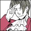 samuraiprosecutor: (Smirk w/finger to forehead)