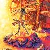 oneill: Final Fantasy X - An early design concept of Yuna as she dances the Sending (proto yuna)