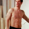 alicesprings: (shirtless reid)