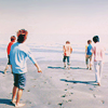 floweranza: (arashi group beach.)